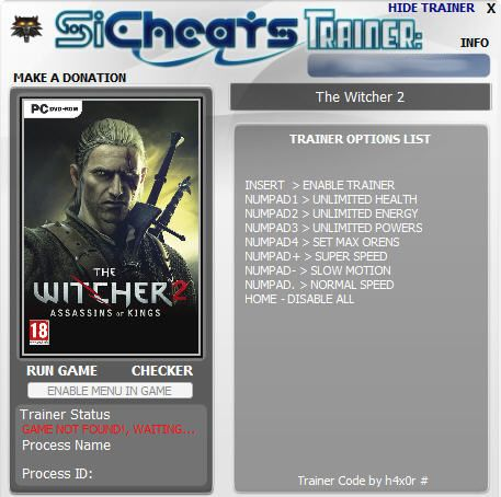 thewitcher2assassinsofkp The Witcher 2: Assassins of Kings v1.0.6041 +6 Trainer