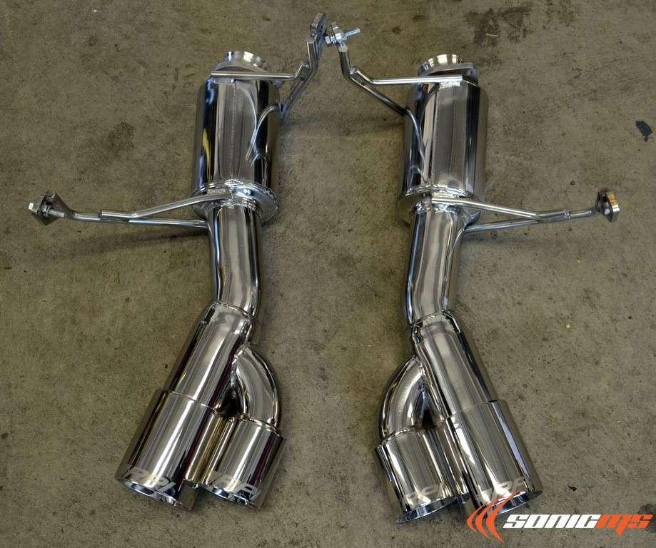 Bmw Z4m Exhaust: Race Precision (RPi) GT Axle Back Exhaust