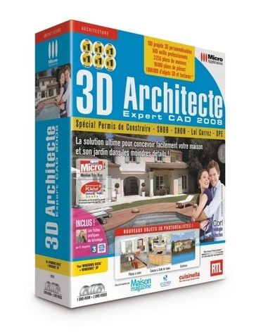 Micro application 3d architecte expert cad warezlander for 3d architecte micro application